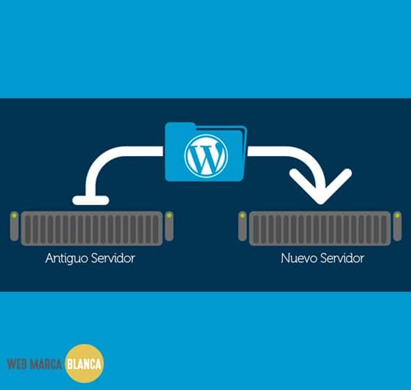 trasladar una web de un servidor a otro